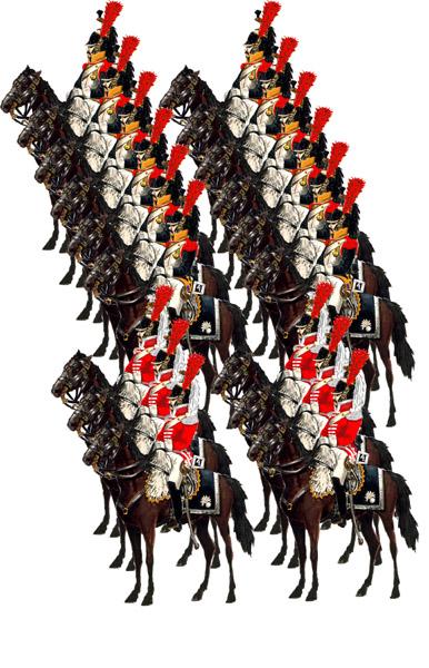 Й кирасирский полк 1812 год