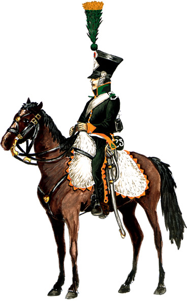 Кавалерия армии наполеона в 1812 году