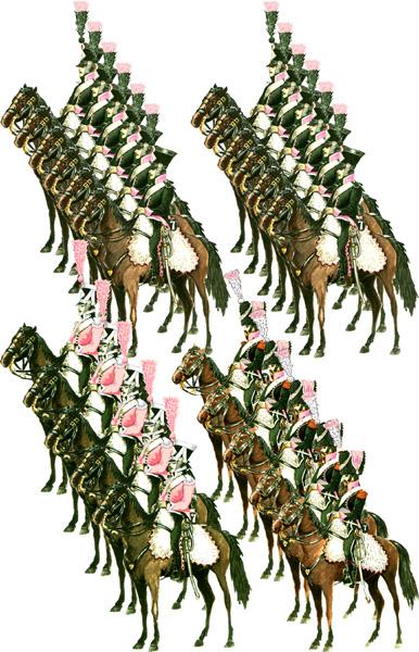 Й конно егерский полк 1812 год
