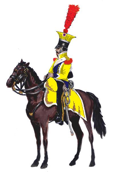 Трубач 8 го шевалежер уланского полка