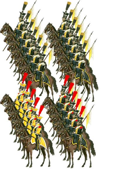 Й шевалежер уланский польский полк