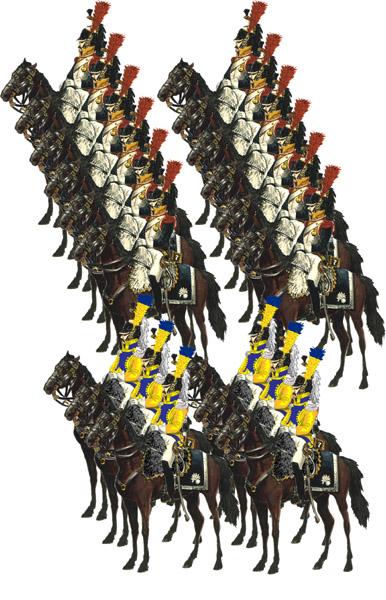 Кавалерии наполеона в 1812 году